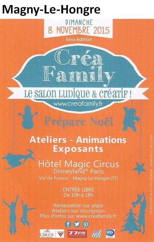 Magny le hongre a visiter dimanche le salon des loisirs cr atifs pr pare no l magjournal77 - Salon des loisirs creatifs paris ...