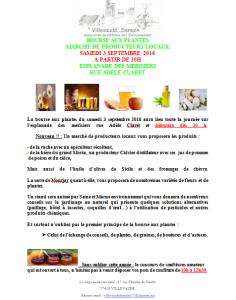 Villevaudé – Samedi 3