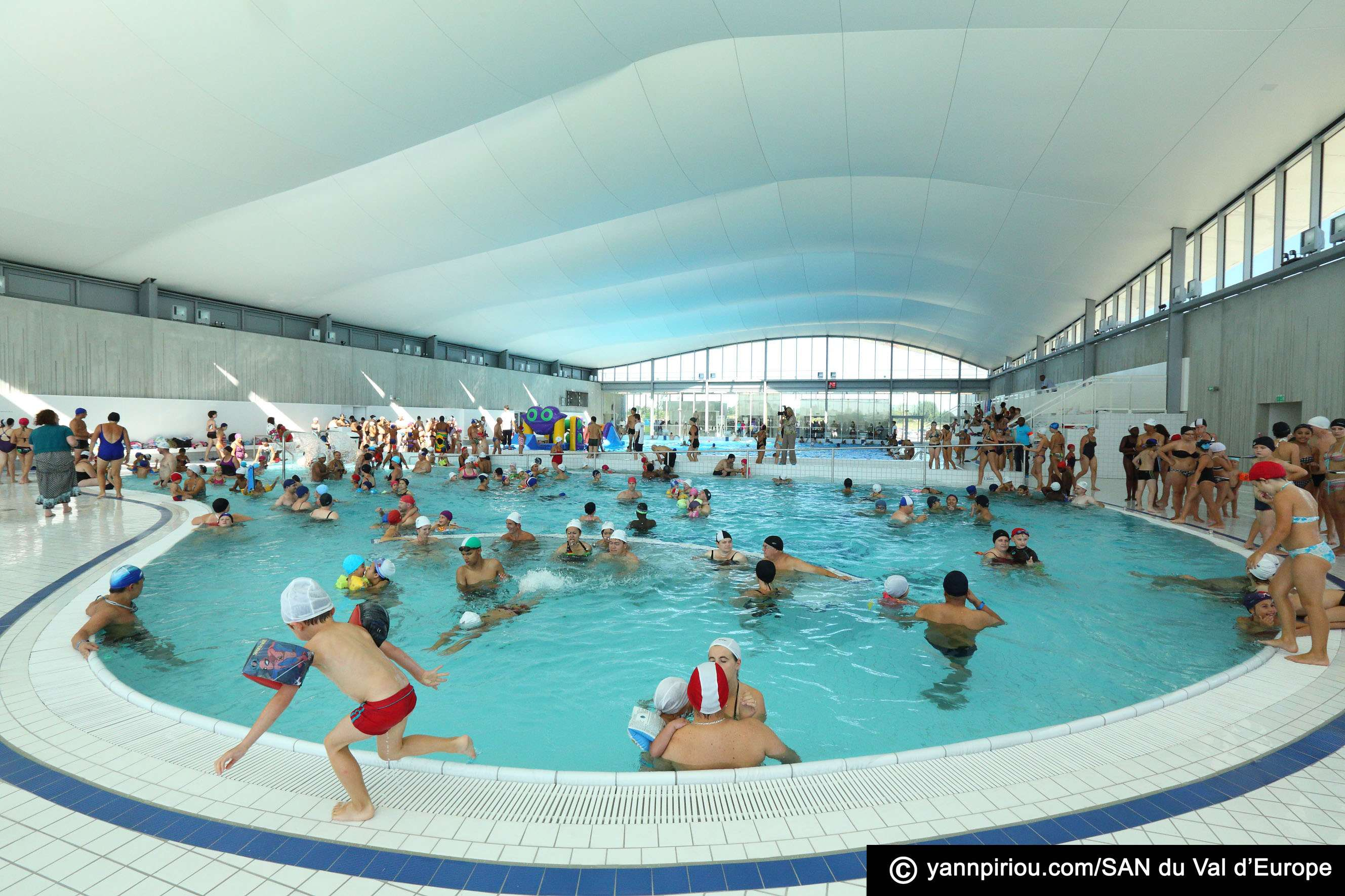 Val d 39 europe le centre aquatique sera ferm une semaine for Piscine de val d europe