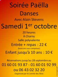 Charny – Samedi 1er