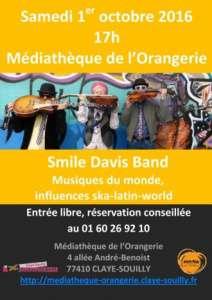 Claye-Souilly – Samedi 1er
