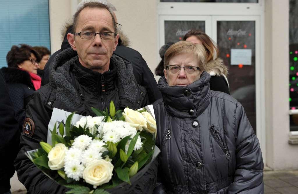 Antoine et Francine, membres de l'association depuis la première heure