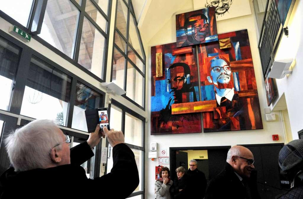 Une expo permanente rend désormais hommage aux grandes icônes de la paix dans le monde.
