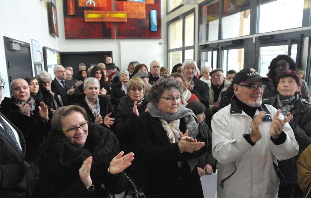 Une cinquantaine d'habitants a assisté, samedi matin, à l'inauguration.