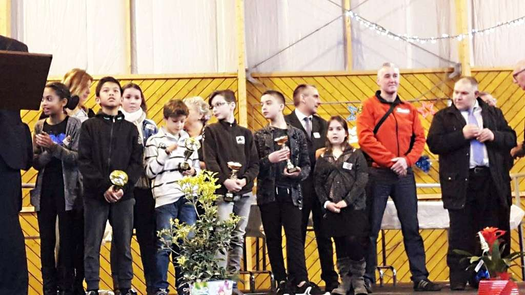 Récompenses aux jeunes sportifs juliaciens