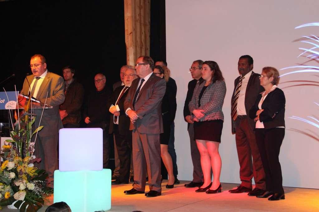 Le maire et son équipe municipale