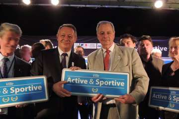 Chelles Photo remise label Ville active et sportive