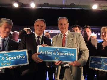 Chelles Photo remise label Ville active et sportive