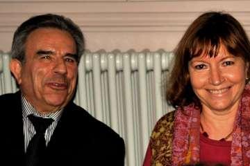 Lydie Wallez et Patrick Paturot, pressenti pour être son premier adjoint aux finances en cas de victoire aux municipales de mars.