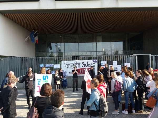 Mitry-Mory ► Lycée Honoré-de-Balzac : 60% des professeurs étaient en grève