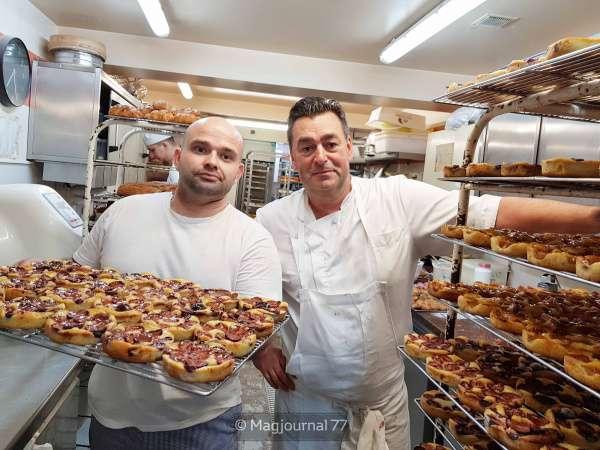 """Meaux ► A la boulangerie-pâtisserie Monchaussé : dernières finitions pour quatre mille """"tartes en prunes"""""""