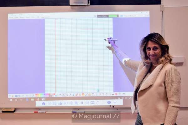 Saint-Soupplets ► Un vidéo-projecteur interactif dans toutes les classes de l'école Henri-Caroly