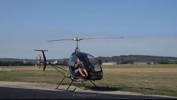 Isles-lès-Villenoy ► France ULM a fait décoller son nouveau modèle d'hélicoptère, unique dans la région