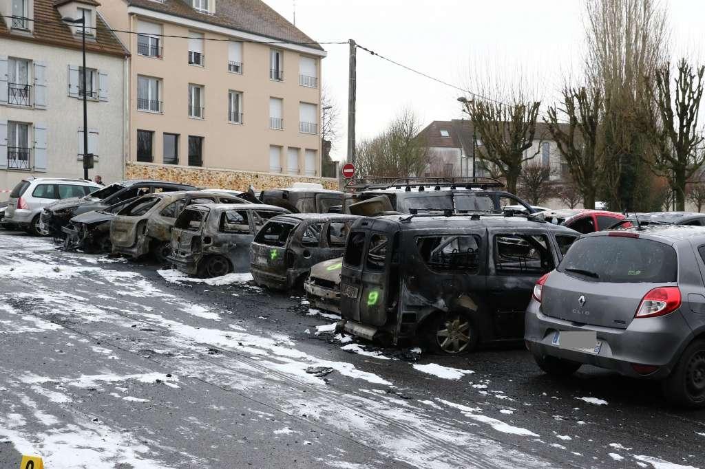 Dammartin, voitures brûlées, décembre 2015