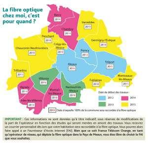 Meaux, fibre optique