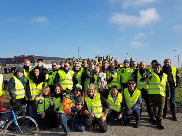 Nord Seine-et-Marne ► Les gilets jaunes se sont mobilisés à Chauconin, Coutevroult, Dammartin-en-Goële, Chessy...