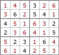 1 Sol sudoku