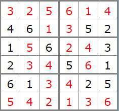 2 sol Sudoku 261