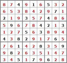 jeux mensuel Janvier 2019 - N°10 11 sudoku sol 423764 - sudoku diabolique