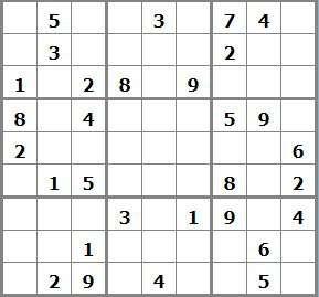jeux mensuel Janvier 2019 - N°1015 sudoku 229269 - sudoku moyen