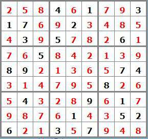 N°11 - 5 sudoku sol 322925 - sudoku difficile