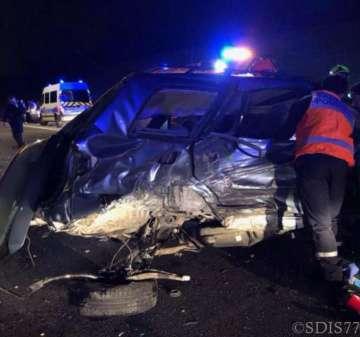 Bussy accident A4 17 février 2019