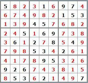 8 sudoku sol 38882 - sudoku difficile
