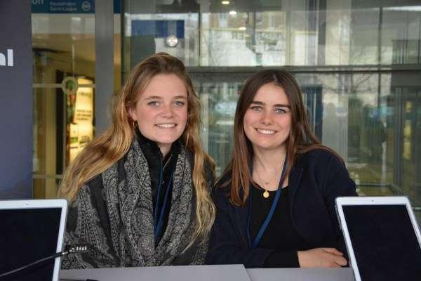 Chelles ► Grand Débat National: deux étudiantes de Science-Po ont animé un stand d'information à la gare
