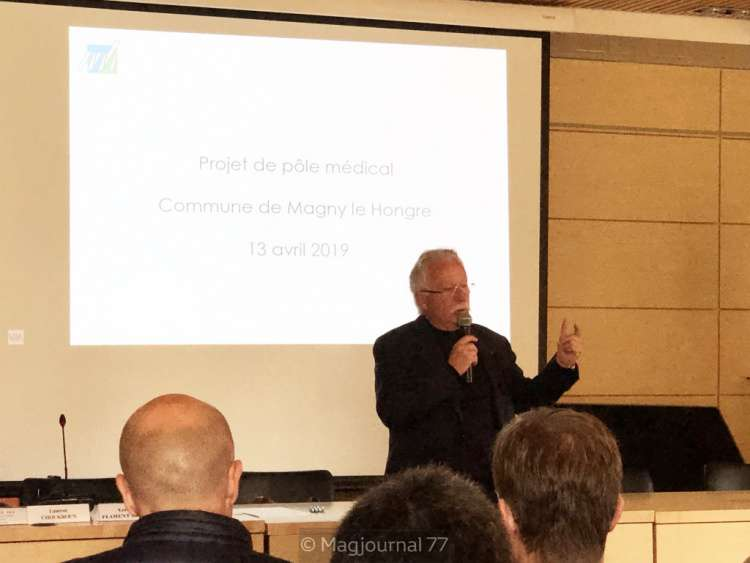 Magny-le-Hongre, Jean-Paul Balcou, réunion publique avril 2019