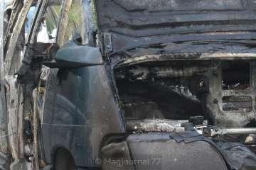 voiture brûlée avril 2019